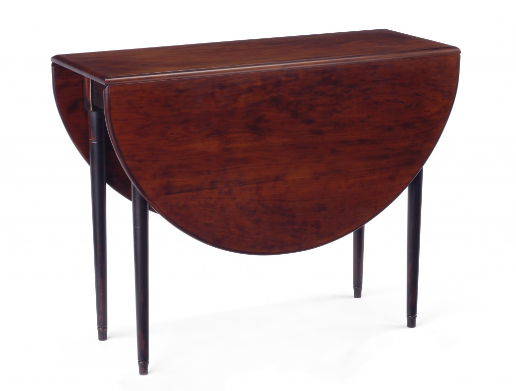 Littleton Oval Drop Leaf Table Phi Home Designs